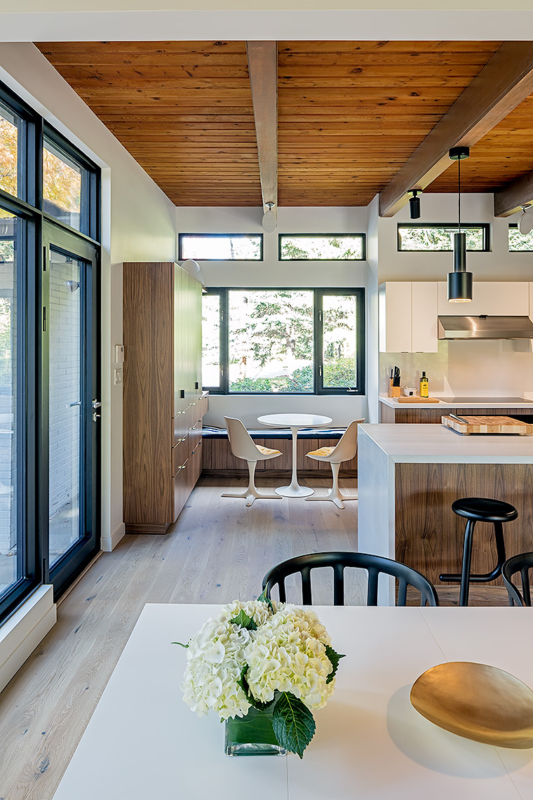Kitchen with flowers by Peter A. Sellar Architectural Photographer