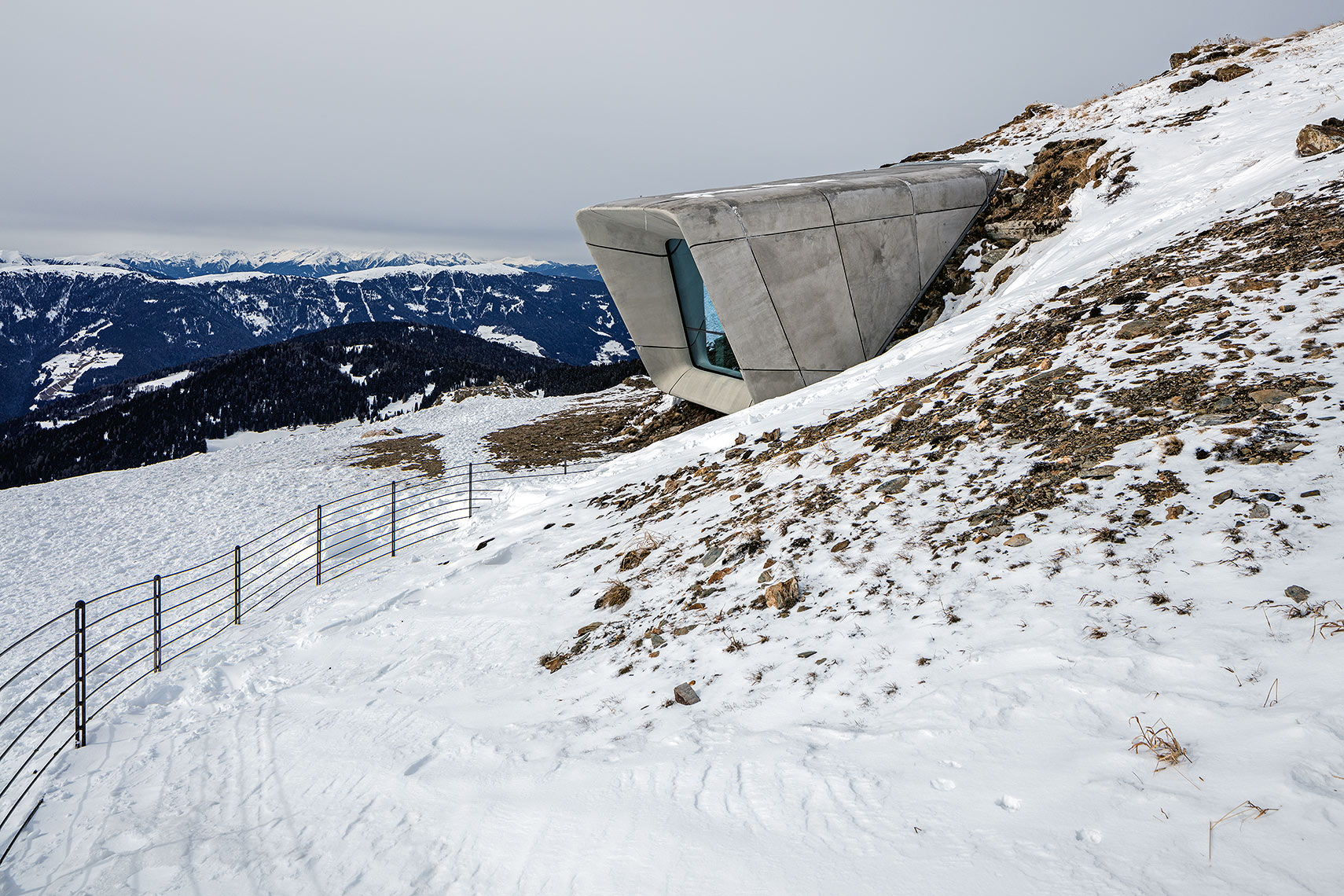 Mountain Museum Corones, Peter A. Sellar Architectural Photographer