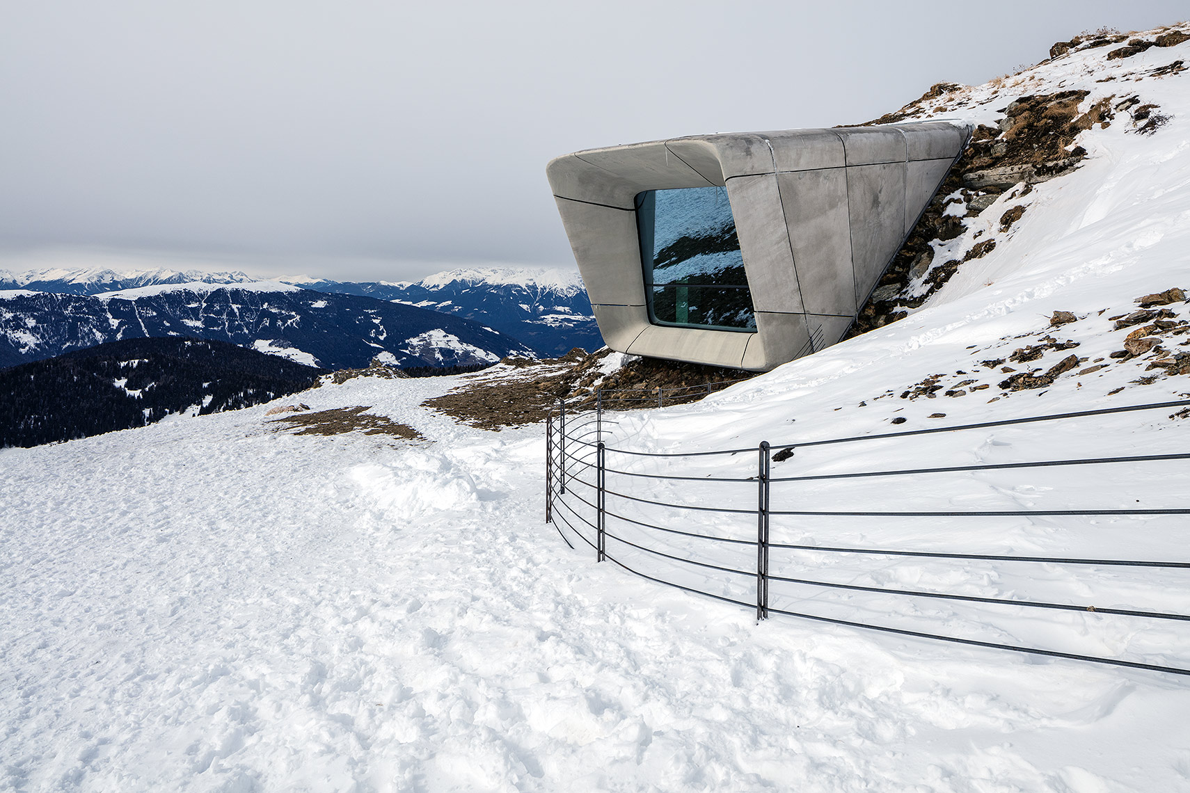Messner Mountain Museum Corones, Peter A. Sellar Architectural Photographer