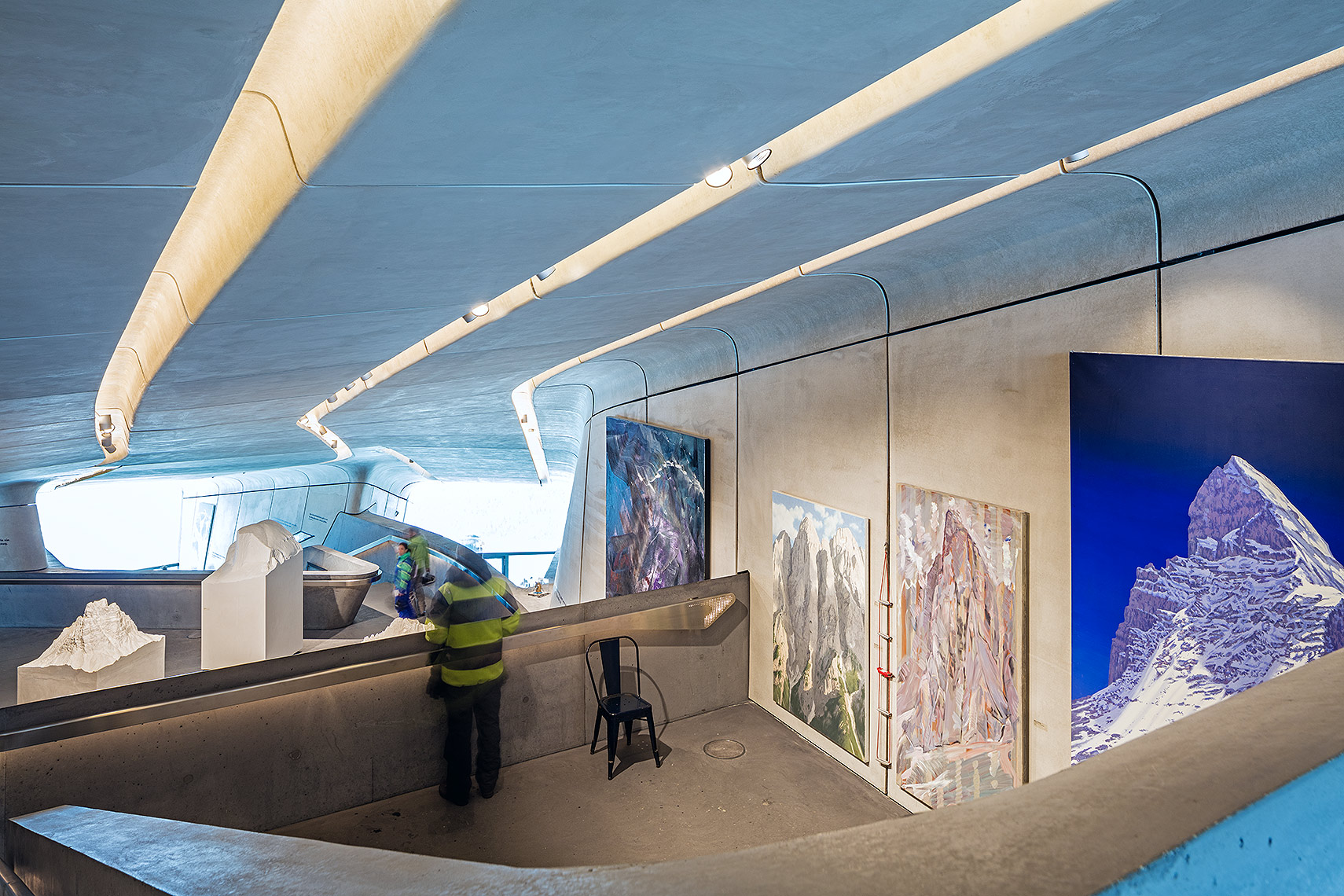 Interiors of the Messner Museum, Peter A. Sellar Architectural Photographer