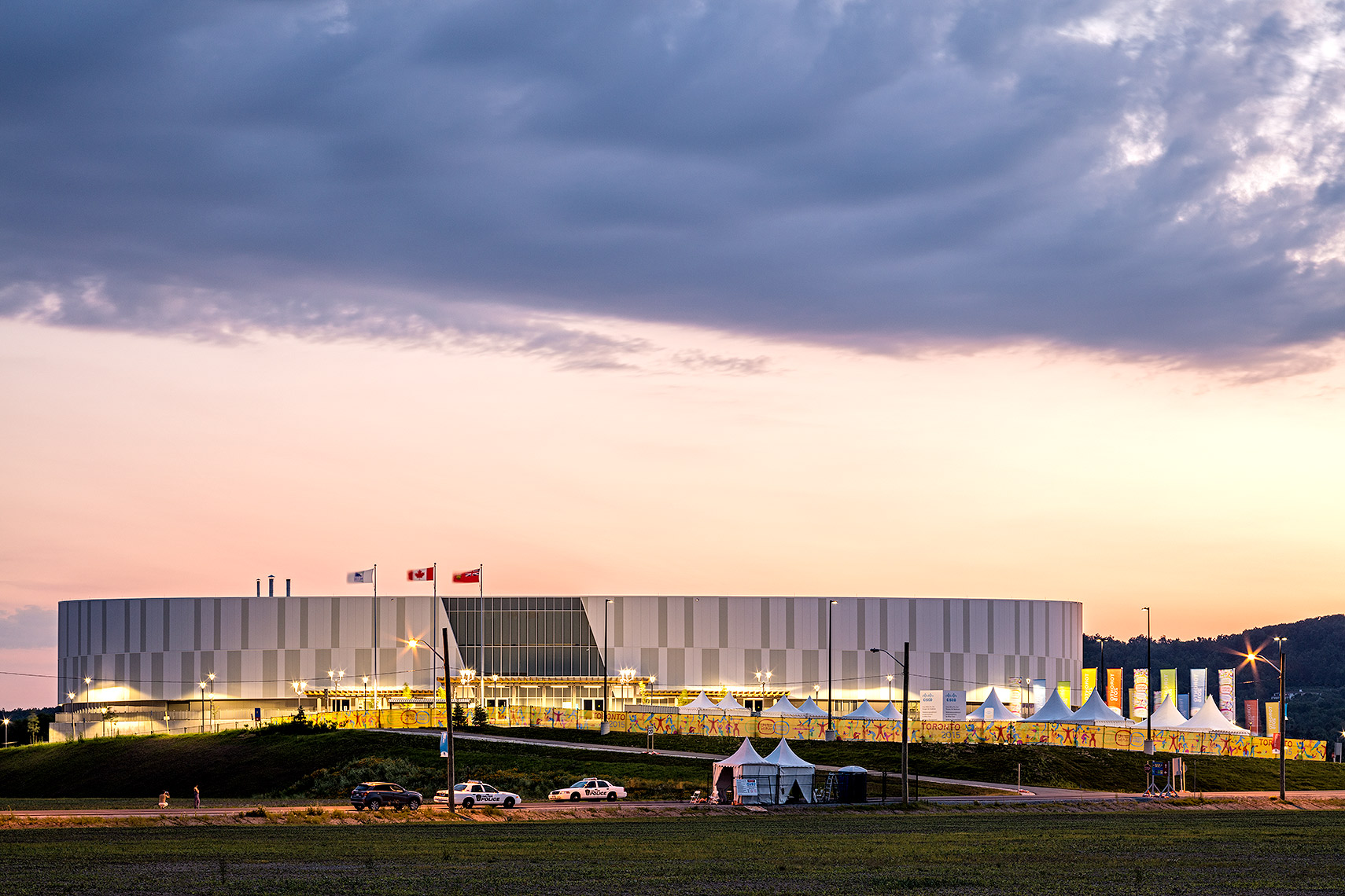 Mattamy National Cycling Centre, Peter A. Sellar Architectural Photographer