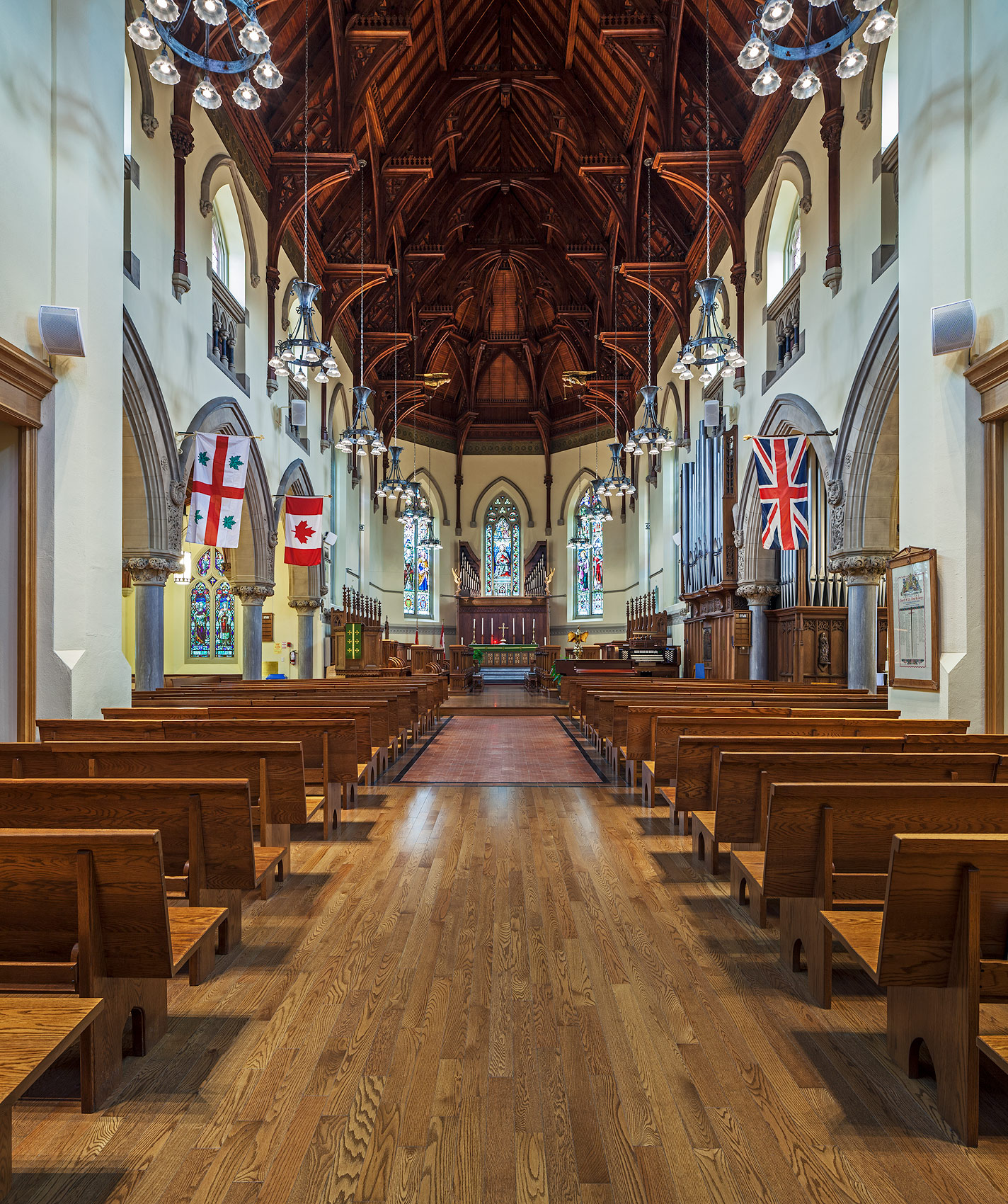 Nave of the Chapel of Royal St. Georges College