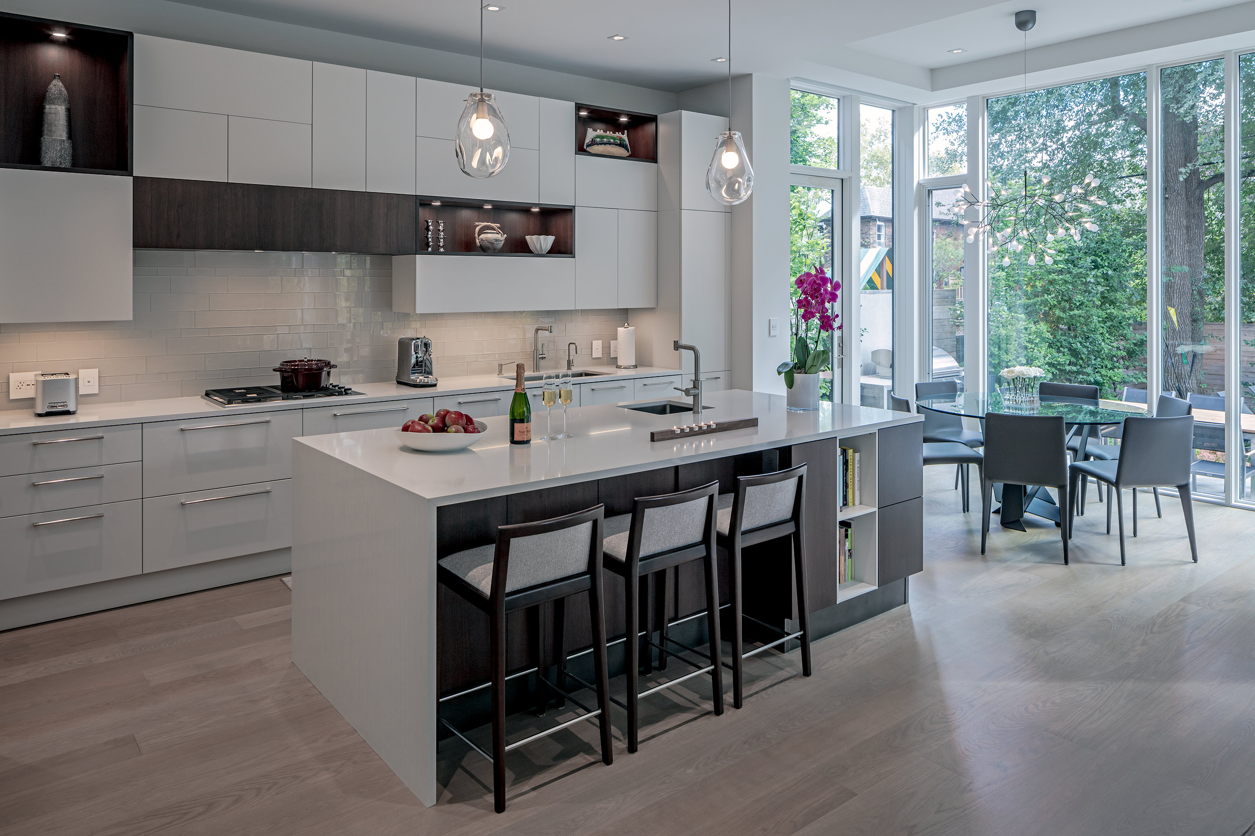 Modern custom kitchen